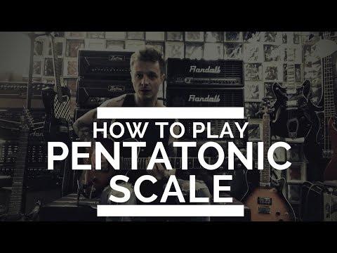 Play unusual pentatonic scale - Daniel Popialkiewicz electric guitar lesson for TopGuitar Magazine