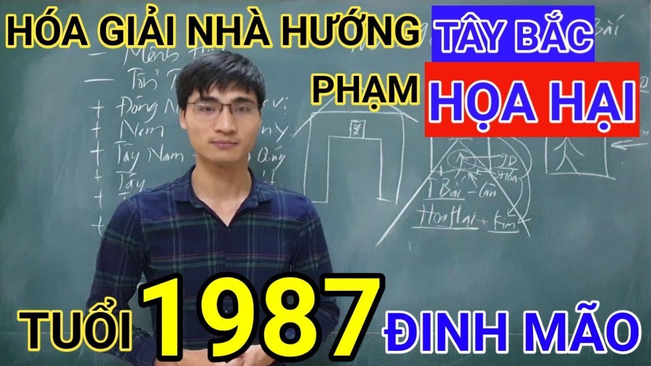 Tuổi Đinh Mão 1987 Nhà Hướng Tây Bắc | Hóa Giải Hướng Nhà Phạm Họa Hại Cho Tuoi Dinh Mao 1987