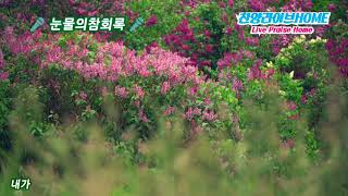 눈물의참회록/찬양:박은혜사모/김목사/김석균곡/