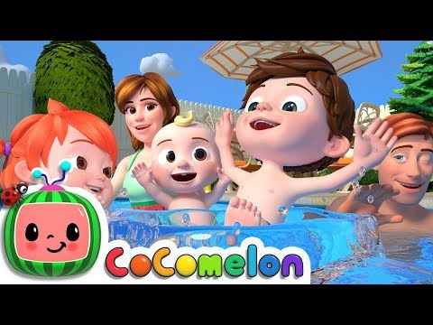 Swimming Song | Cocomelon (ABCkidTV) Nursery Rhymes