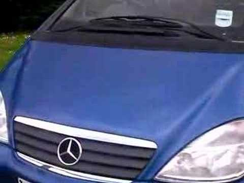 2001 mercedes a class a140 1 4 5 door alloys youtube. Black Bedroom Furniture Sets. Home Design Ideas