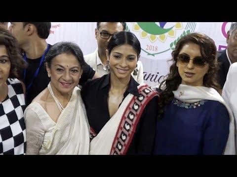 Juhi Chawla & Others At Opening Of Women Of India Organic Festival