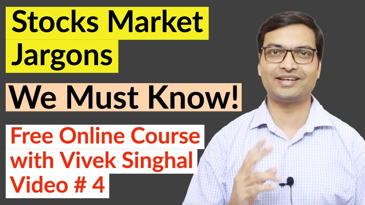 Stock Market Jargons