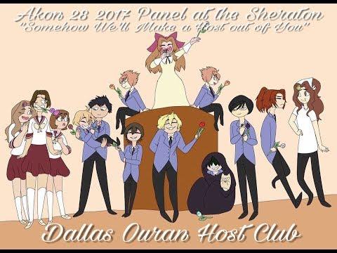 Dallas Ouran Host Club Akon28 Cosplay Panel 2017
