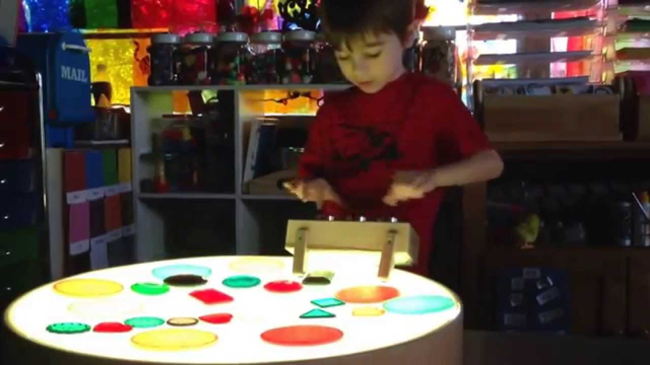 Kodo Kids Light Lab   Round Light Table