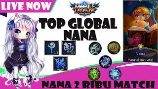 CARI BACOTAN TEAM SOLO RANK PICK NANA