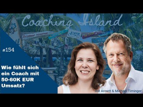 Coachingisland #154: Wie fühlt sich ein Coach, der 50-60 KEUR Umsatz macht