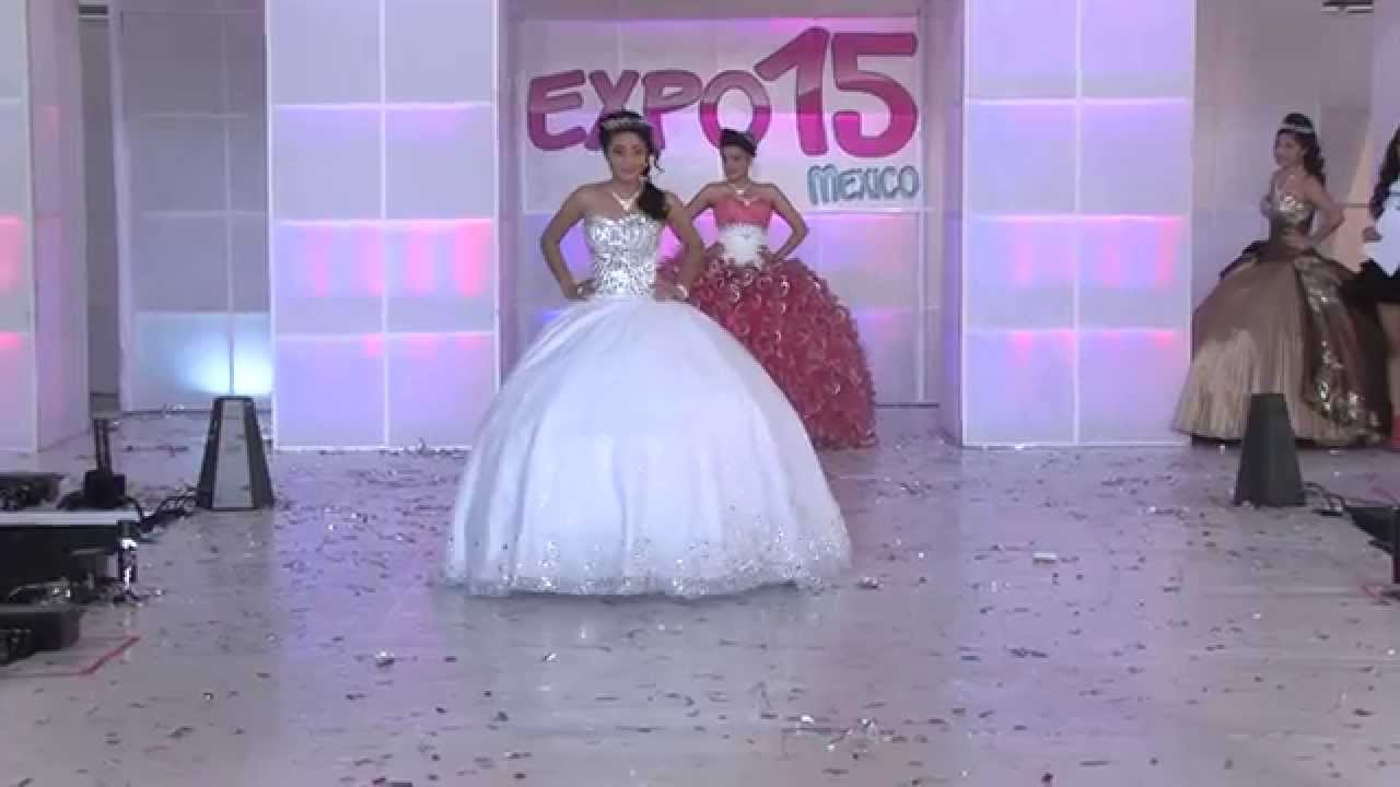 Expo 15 México. Pasarela de vestidos de 15 años, Diseñador Jorge ...