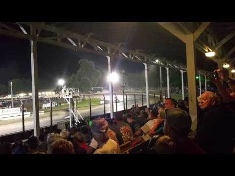 World of Outlaws Sprint Cars at West Liberty Raceway 6/23/17
