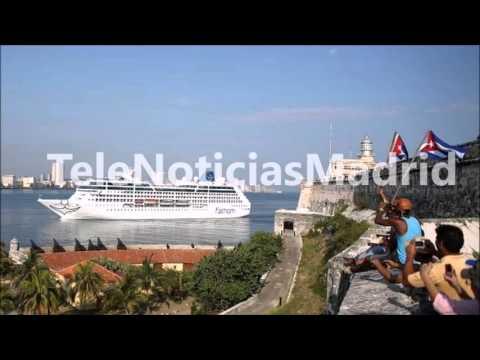 Llega a La Habana el primer crucero de EE UU a Cuba en cinco décadas