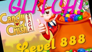 Candy Crush Glitch Level 888 - This game cheats!!