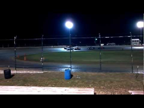 Feature Win in Outlaw Factory Stock at Mid-America Speedway Part 1
