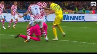 хорватия - Украина. 1:0. Обзор матча. 24.03.2017