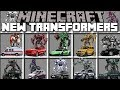 Minecraft NEW TRANSFORMERS MOD / FIGHT OFF DECEPTICONS AND WIN THE BATTLE!! Minecraft