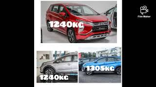Toyota Rush, Mitsubishi Xpander dan Honda BR-V : Mana pilihan terbaik
