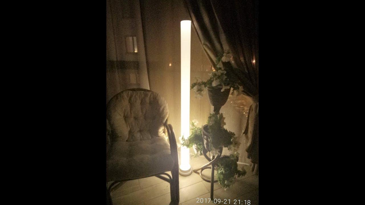 Напольный светильник своими руками фото 964