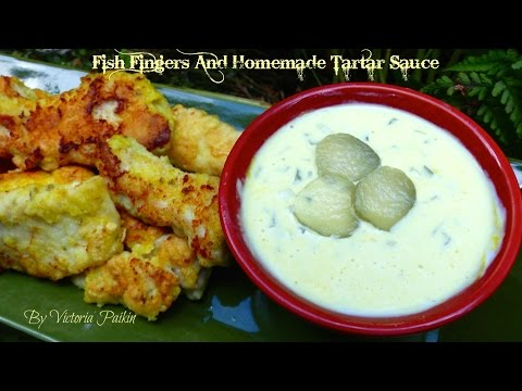 Fish Fingers And Homemade Tartar Sauce | By Victoria Paikin