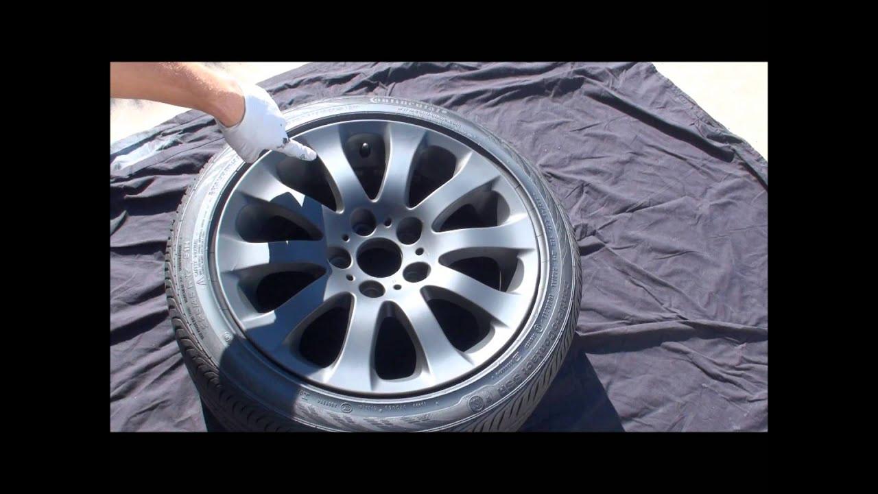 spraying matte black plastidip on wheel. Black Bedroom Furniture Sets. Home Design Ideas