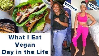 What I Eat Vegan | Day in the Life | Easy Exercise & Budget Friendly Options | Vegan Recipes
