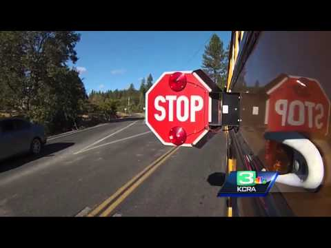 Drivers illegally passing school buses put students at risk