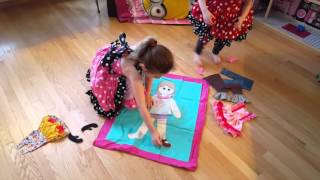 Mae ' s Tote-n-Play-Doll-Muster von Create Kids Couture