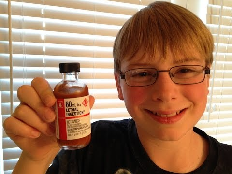 11-yr-old eats Lethal Injestion hot sauce : Crude Brothers