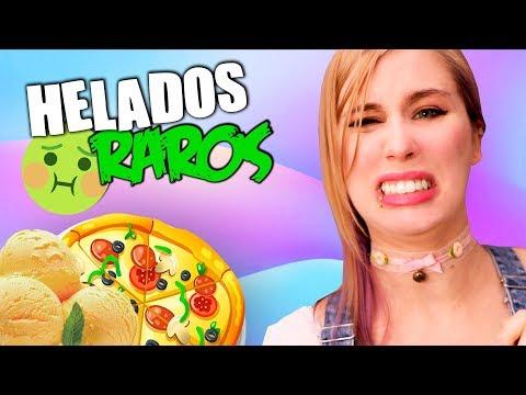 HELADO DE PIZZA O ZANAHORIA? | Probando helados raros