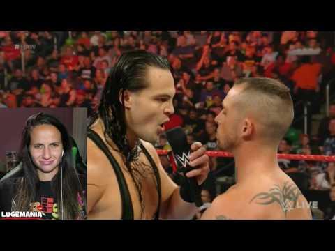 WWE Raw 9/5/16 Bo Dallas vs Local Talent