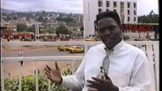 Dr Ernest Simo visits Cameroon 1999: (Interview by Andre Ngonpemo-Journalist CRTV)