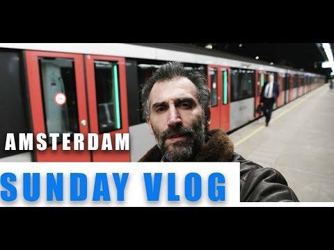 Sunday Vlog In Amsterdam winter (2019)