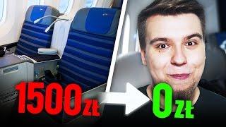 Jak latać klasą biznes ZA DARMO?