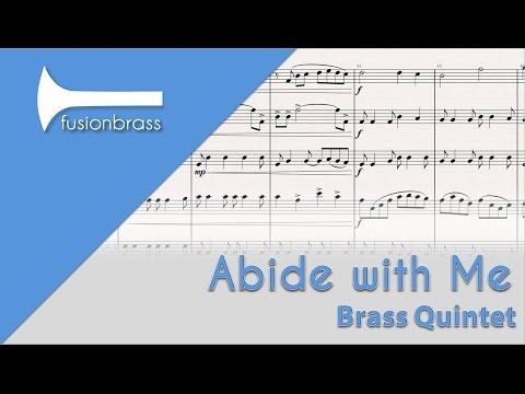 Abide with Me  Brass Quintet