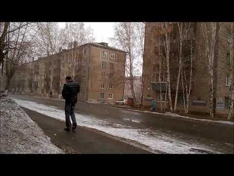April 1-10, 2018. April weather in Siberia // Bratsk