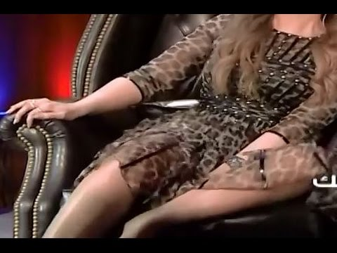 برنامج بلا تشفير - قعدة حليمة بولند الطبيعية والمثيرة بفستان قصير