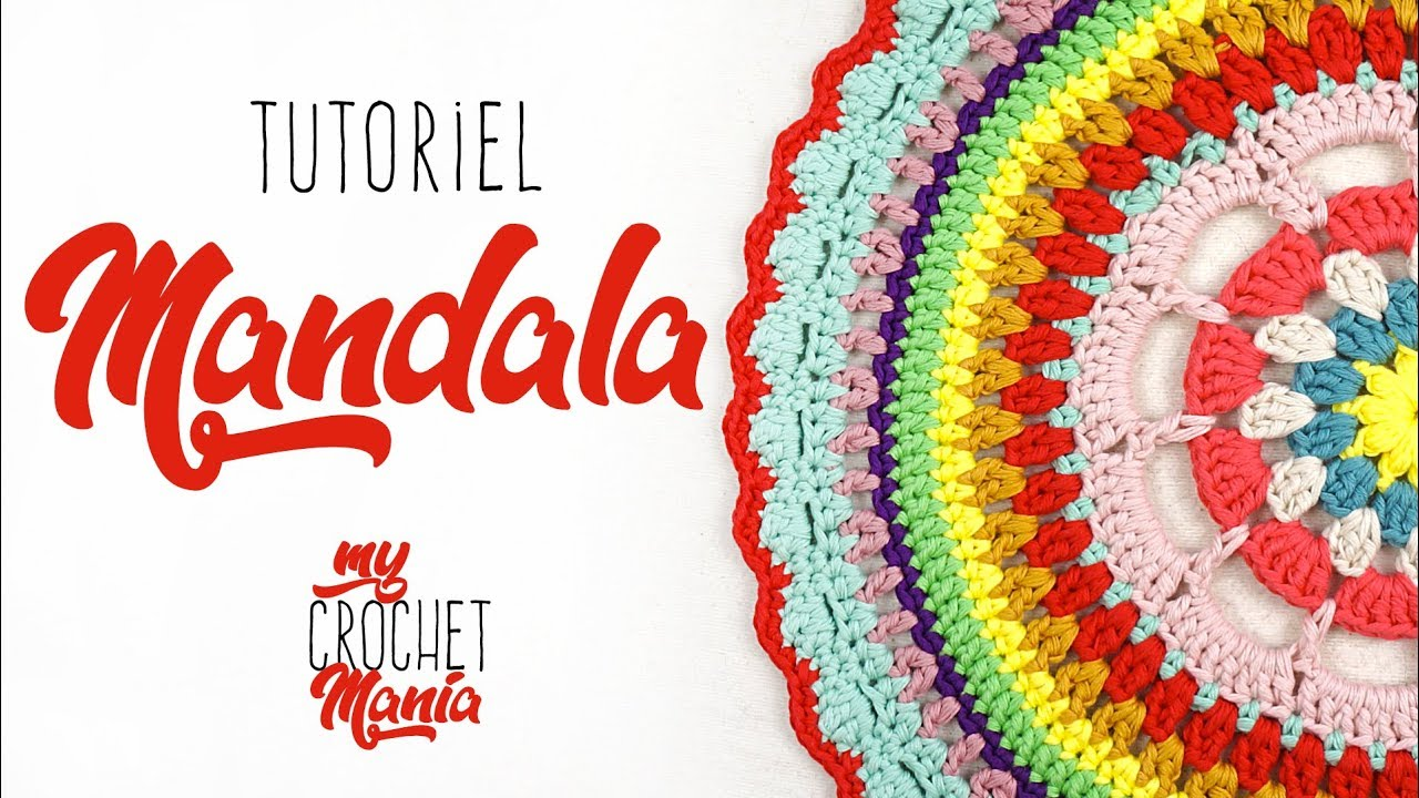 tuto crochet comment faire un mandala super facile youtube. Black Bedroom Furniture Sets. Home Design Ideas