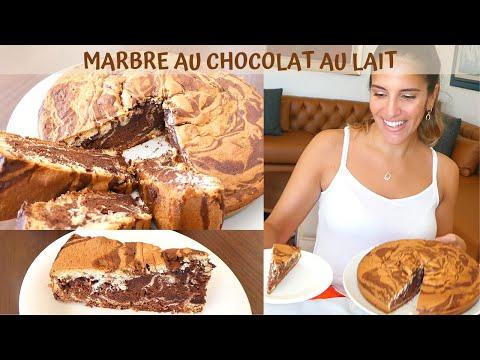 cake-marbré-chocolat-au-lait-moelleux-:-facile-et-rapide-à-réaliser-!-😍