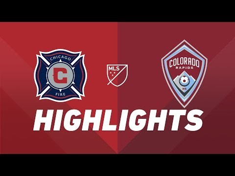 Chicago Fire vs. Colorado Rapids | HIGHLIGHTS - April 20, 2019