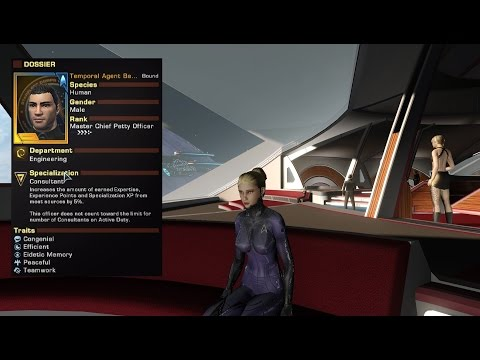 Star Trek Online - Temporal Agent Rewards Final (Gold Doff)