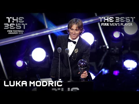Luka Modric Reaction - The Best FIFA Men's Player 2018
