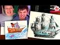 как рисовать корабли схема