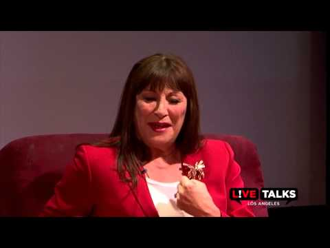 Anjelica Huston in conversation with Mitch Glazer at Live Talks Los Angeles