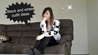 Allthatfashion|Black and white spring outfit ideas