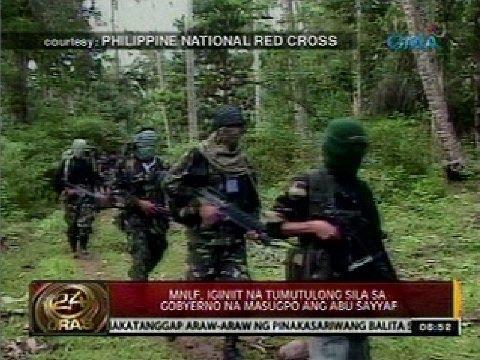 24 Oras: Bakbakan ng MNLF at Abu Sayyaf, pinaiimbestigahan ng Malacañang