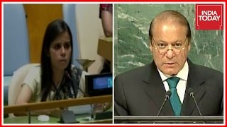 Indian UN Sec, Eenam Gambhir Gives Strong Reply To Pak At UNGA