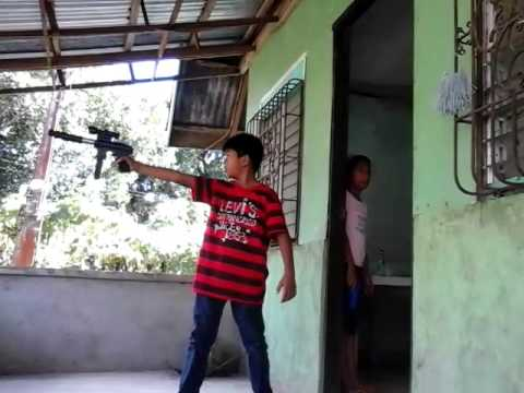 Purok 3 vs Purok 2 Pellet gun war.