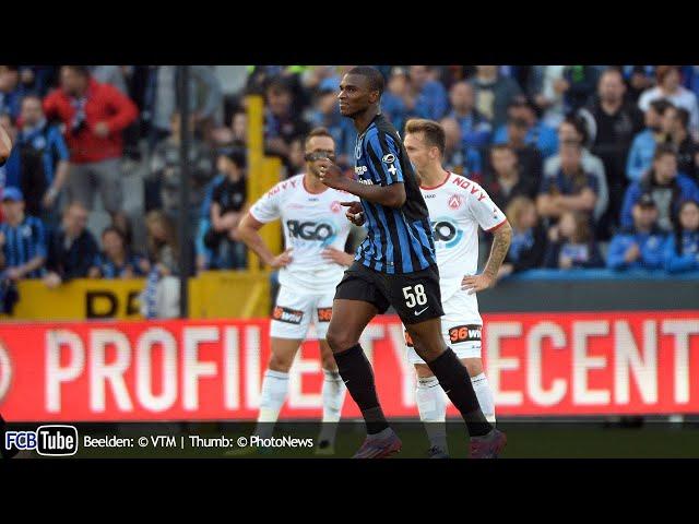 2014-2015 - Jupiler Pro League - 08. Club Brugge - KV Kortrijk 5-0
