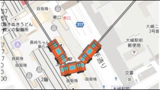 TrainOnMap - Strange turn at too sharp corner