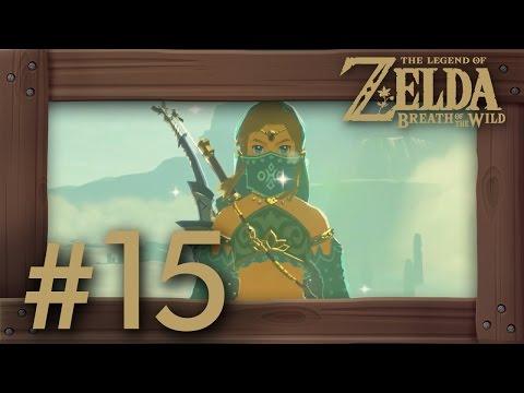 Zelda Breath of the Wild Walkthrough Part 15 | Reaching Gerudo Town (Switch Gameplay) No Commentary