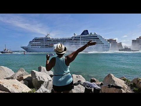 First US cruise to leave Miami for Cuba in 50 years sets sail
