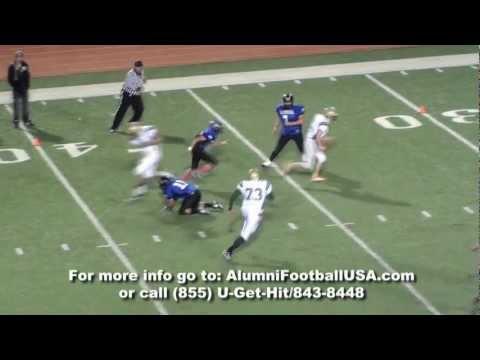 Balmorhea vs Ft Davis Alumni Football USA Highlights 1-21-12